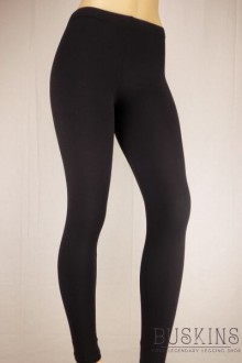 Women's SML Full Length Thermal Leggings, Black, would compliment short yellow blouse